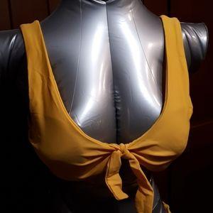 Swim - Goldenrod bikini size 6